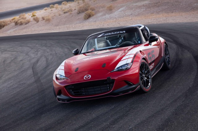 2016 Mazda Global MX-5 Cup race car