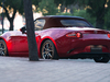 2018 Mazda MX-5 Roadster update - red, rear, Caramel top