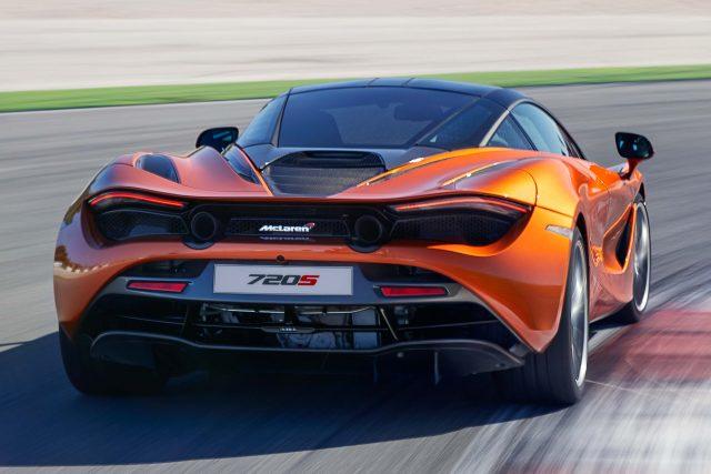 McLaren 720S - rear