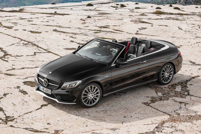 A205 Mercedes-AMG C43 4Matic cabriolet - front