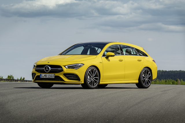 2019 Mercedes-AMG CLA35 Shooting Brake