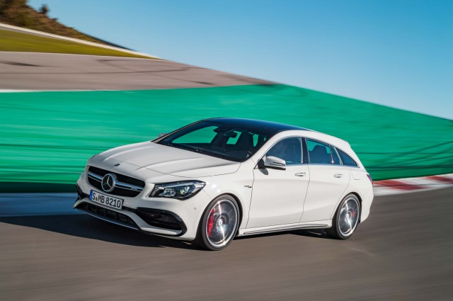 Mercedes-AMG CLA45 Shooting Brake (X117 facelift) - front