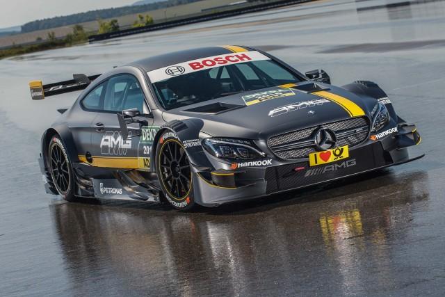Mercedes-AMG DTM 2016 race car - front