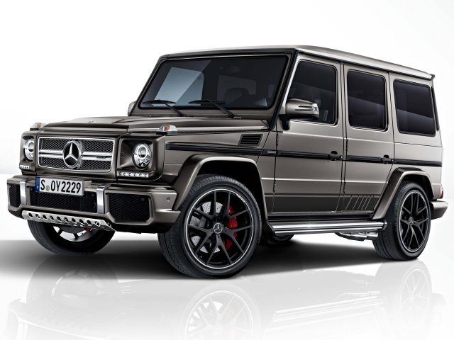 Mercedes-AMG G63 and G65 Exclusive Edition - front