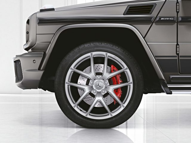 Mercedes-AMG G63 and G65 Exclusive Edition - front fender, wheel, brakes