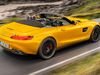 2018 Mercedes-AMG GT S Roadster - rear, top down