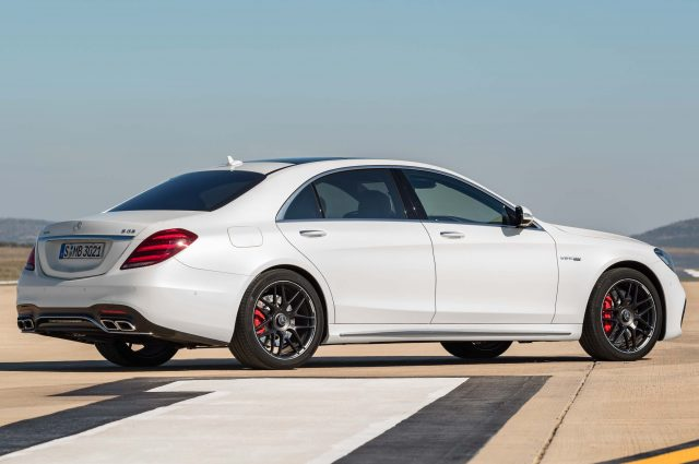 2017 Mercedes-AMG S63 4Matic+ facelift - rear