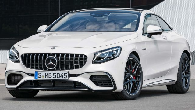 2017 Mercedes-AMG S63 4Matic+ Coupe facelift - white, front