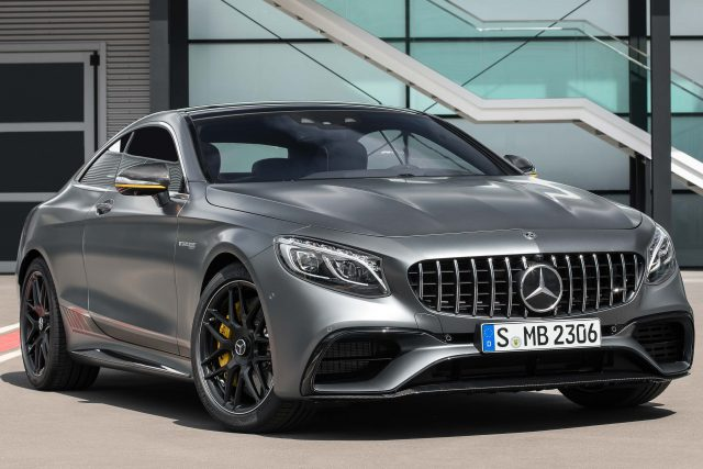 2017 Mercedes-AMG S63 4Matic+ Yellow Night Edition coupe - front