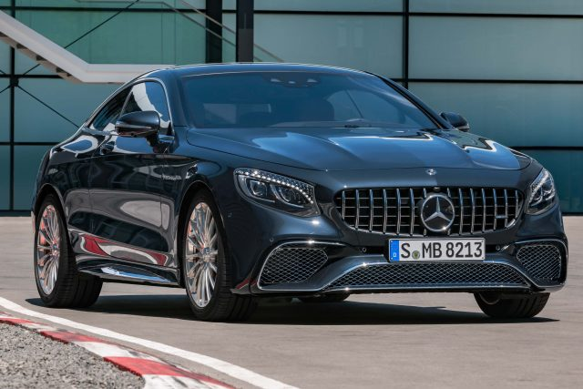 2017 Mercedes-AMG S65 coupe facelift - front