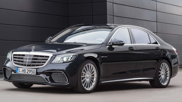 W222 Mercedes Amg S65 Facelift Front