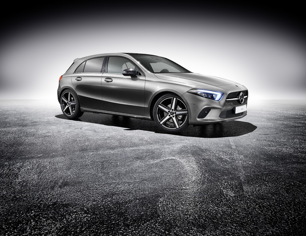 W177 Mercedes-Benz A-Class with optional sports equipment