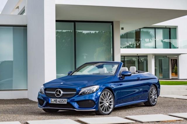 A205 Mercedes-Benz C400 4Matic cabriolet - front