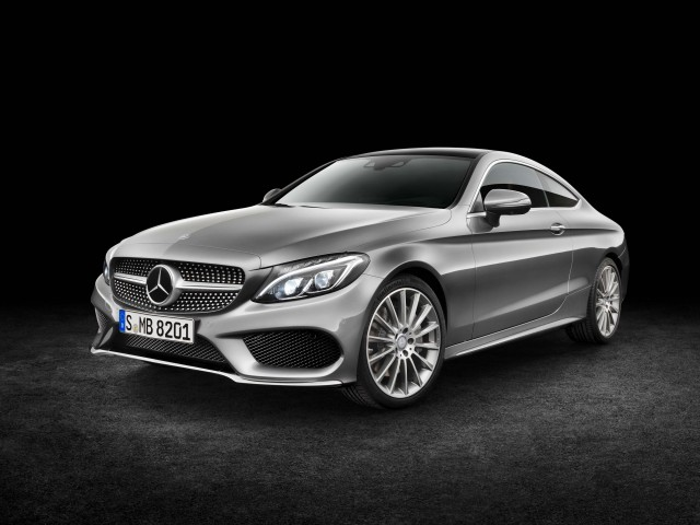 C205 Mercedes-Benz C-Class coupe C300 (gray) - front