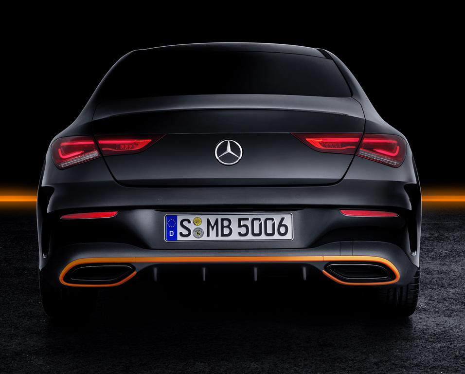 2020 Mercedes-Benz CLA Orange Art Edition