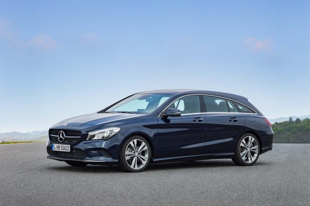 Mercedes-Benz CLA250 4Matic Shooting Brake (X117) - front