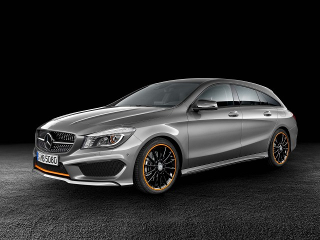 Mercedes-Benz CLA 250 4MATIC Shooting Brake (X117) - front, profile