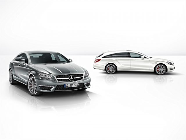 W218 Mercedes-Benz CLS63 AMG S and X218 Mercedes-Benz CLS63 AMG Shooting Brake