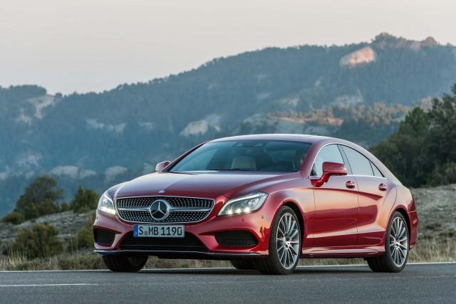 C218 Mercedes-Benz CLS500 4Matic facelift - front