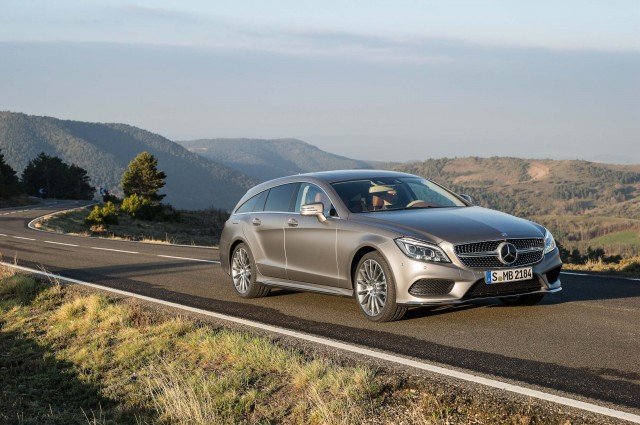 X218 Mercedes-Benz CLS400 Shooting Brake - front