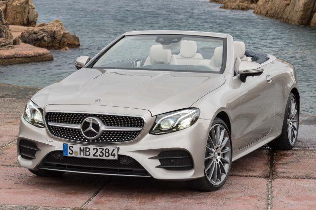 A238 Mercedes-Benz E-Class Cabriolet - front