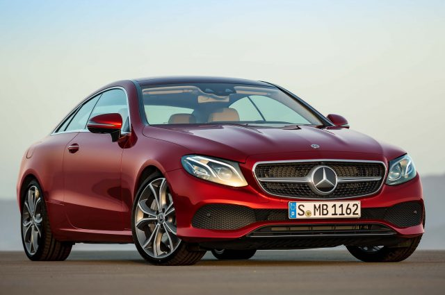 C238 Mercedes-Benz E-Class Coupe - front, red, Avantgarde