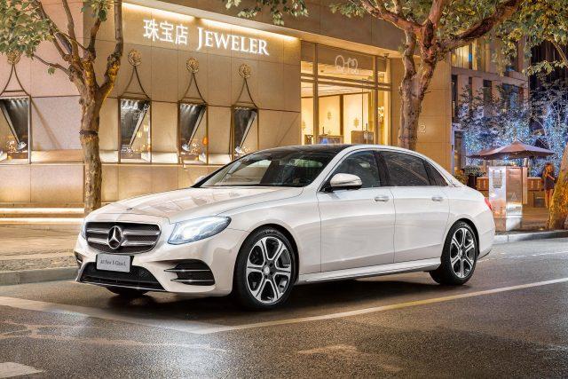 W213 Mercedes-Benz E-Class L - front