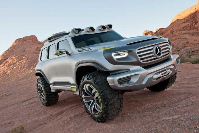 Mercedes-Benz Ener-G-Force - front