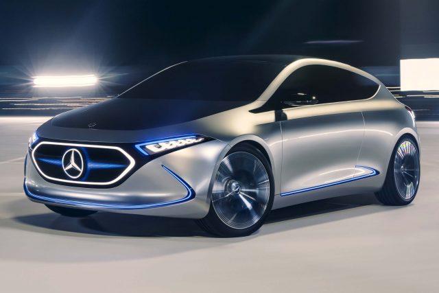 Mercedes-Benz Concept EQA - front