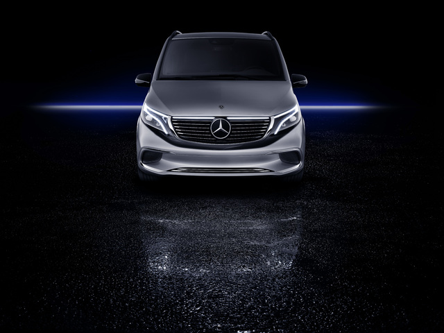 2019 Mercedes-Benz EQV concept