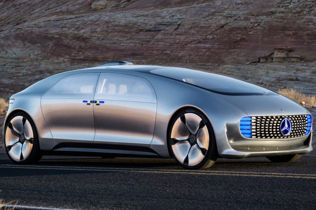 Mercedes-Benz F015 Luxury in Motion concept - front