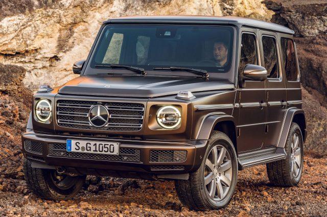 2019 Mercedes-Benz G-Class - front