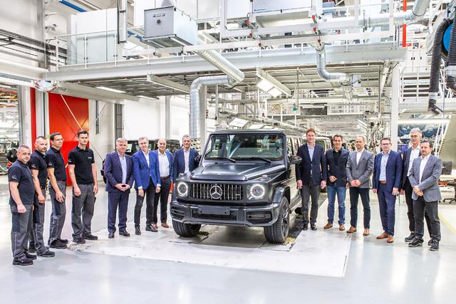W464 Mercedes-Benz G-Class production begins