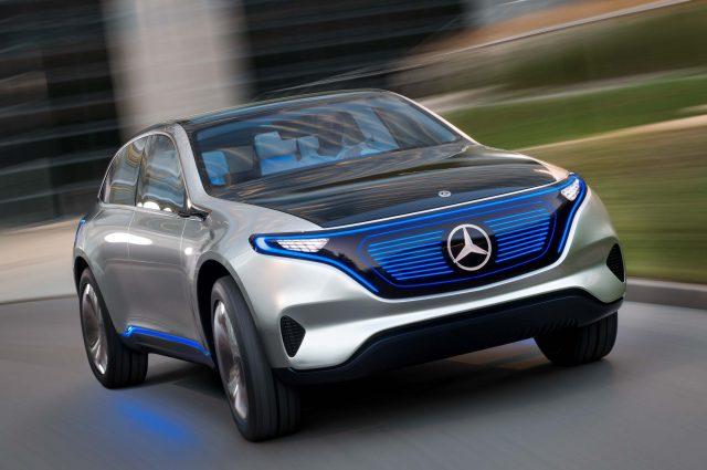 Mercedes-Benz Generation EQ concept - front