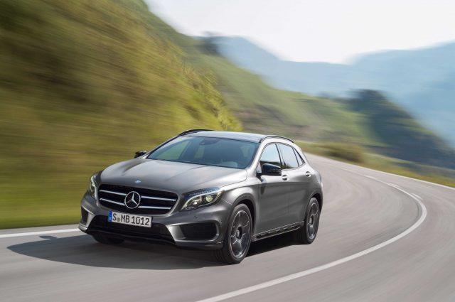 Mercedes-Benz GLA - front
