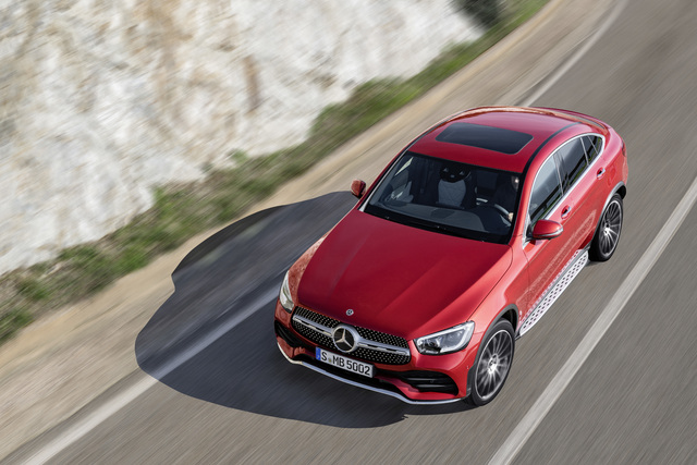 2020 Mercedes-Benz GLC Coupe facelift