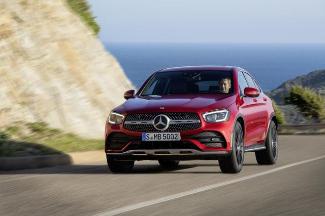 2020 Mercedes-Benz GLC Coupe facelift