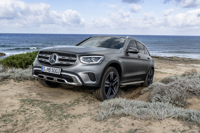 2019 Mercedes-Benz GLC facelift