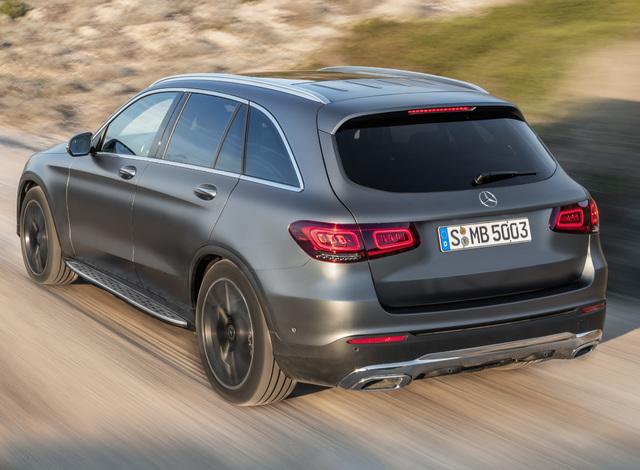 Der neue Mercedes-Benz GLCThe new Mercedes-Benz GLC