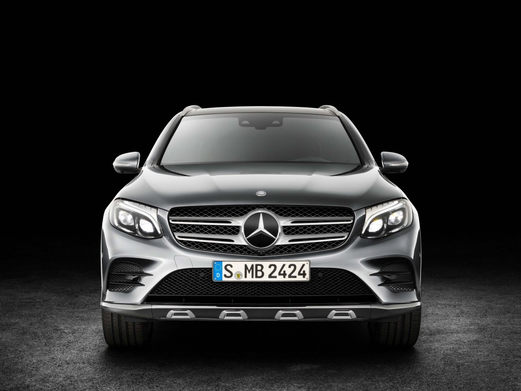 X253 Mercedes-Benz GLC350e 4Matic Edition 1 - front end