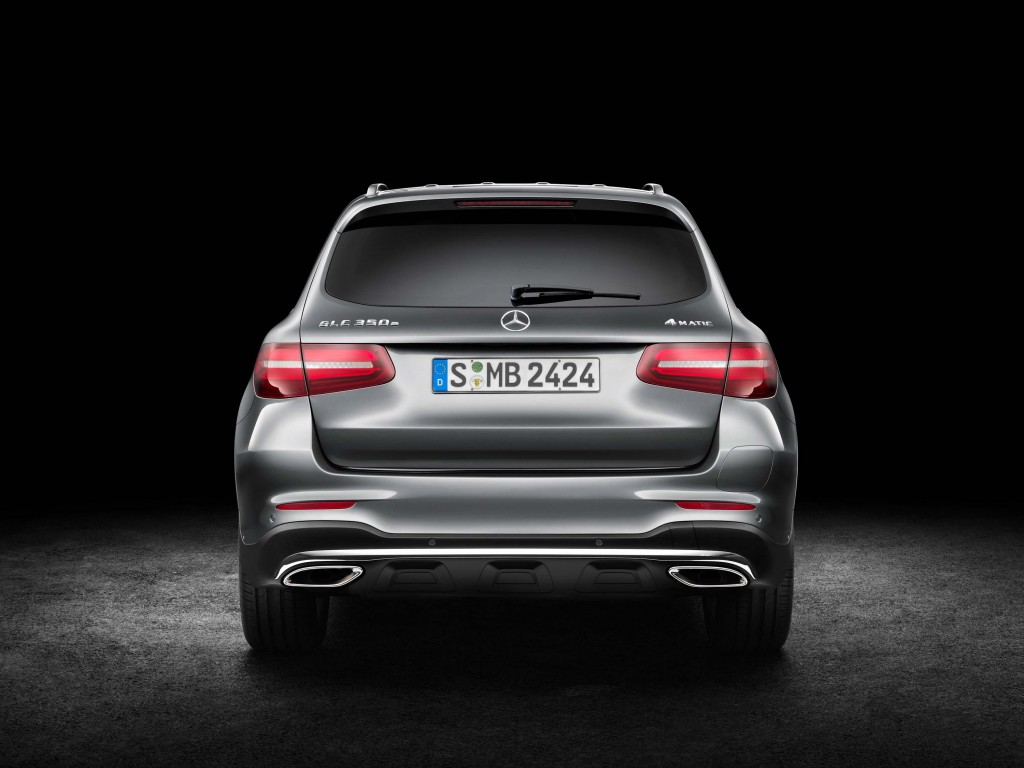 X253 Mercedes-Benz GLC350e 4Matic Edition 1 - rear