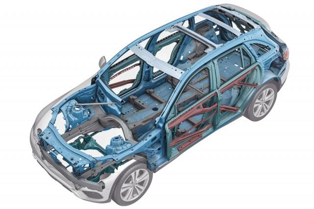 X253 Mercedes-Benz GLC-Class - body frame