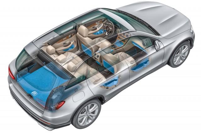 X253 Mercedes-Benz GLC-Class - cutaway
