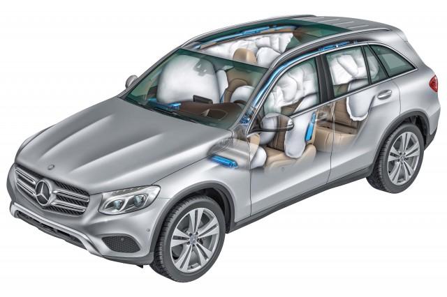 X253 Mercedes-Benz GLC-Class - airbags