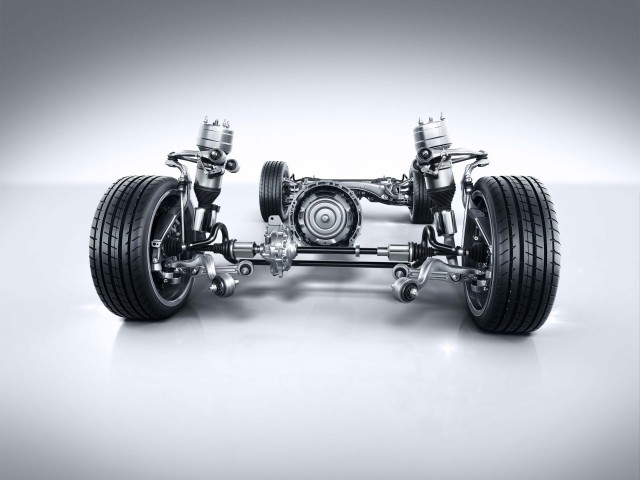 X253 Mercedes-Benz GLC-Class - suspension setup