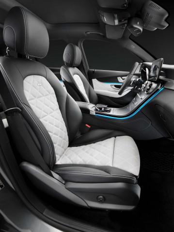 X253 Mercedes-Benz GLC350e 4Matic Edition 1 - front seats