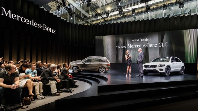 X253 Mercedes-Benz GLC world premiere