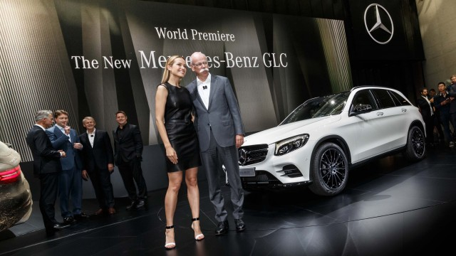 X253 Mercedes-Benz GLC world premiere