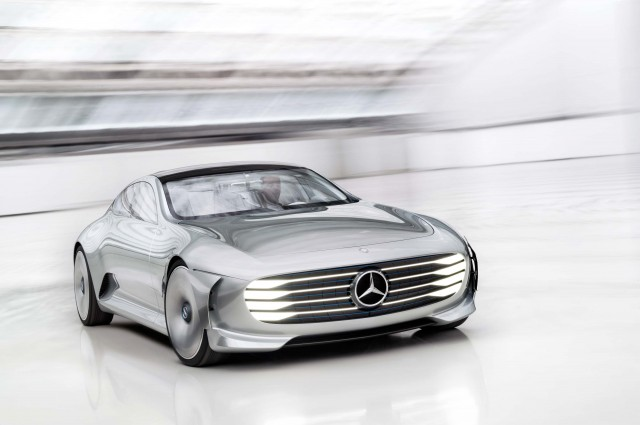 Mercedes-Benz Concept Intelligent Aerodynamic Automobile - front