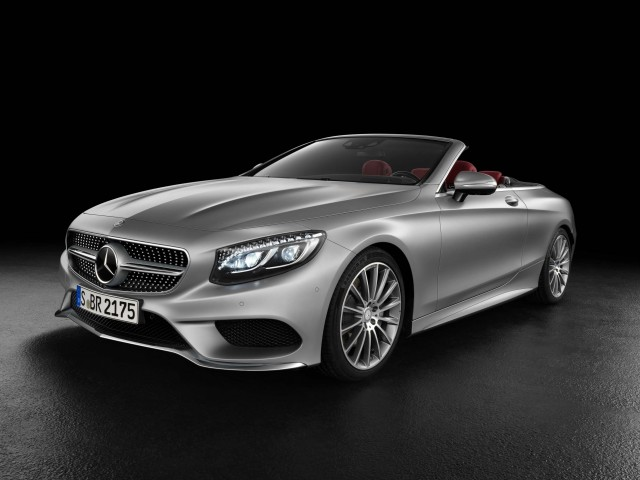 A217 Mercedes-AMG S500 cabriolet - front